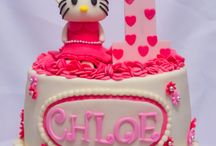 fondant cake / my creation  / by joyce✿