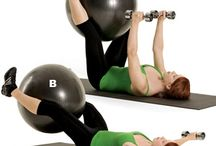 Stability Ball Routines / These are great workouts that are easier on your back and joints. / by Tricia Bommarito