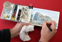 Plein air painting / Peinture en plein air