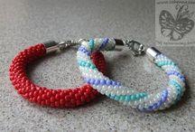 Biżuteria sznury koralikowe, kumichimo / To tylko część moich prac :) Jeśli podobają ci się i chcesz je mieć to zapraszam do kontaktu: cohenna@o2.pl