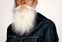 Grey Beards / Featuring the best beards styles for grey hair.
