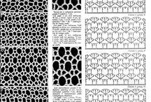 crochet - curtains