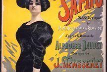 Opera posters. Massenet