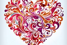 Hearts / *the original designs are not mine