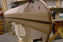 canoe - stavba