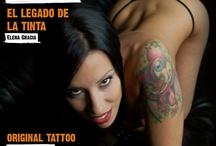 """Tattoo is Pain / Portadas, fotos y otros temas relacionados con la revista digital trimestral """"Tattoo is Pain"""" - www.tattooispain.es. Proyecto de Hatone Design & Tatuadores.es."""