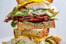 burgers, sandwiches and flatbreads / #carboverload