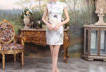 Short-length Cheongsam Qipao Chinese Dress / Short-length Cheongsam Qipao Chinese Dress