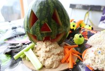 Healthy Halloween Snacks / Get the kids to eat healthy during Halloween with our collection of fun, easy Halloween snacks recipes.