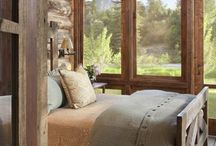 Mountain Cabins / Cabin  / by Cheryl Draa Interior Designs