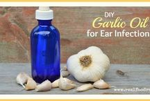 Garlic ear infection oil