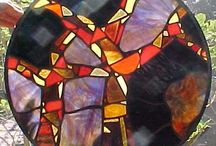 stained glass / by Lisa Ritchie Purkey
