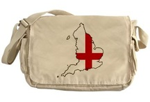England Flag Map Products