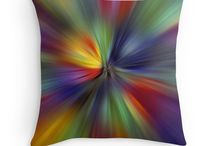Photo Art on Pillows & Cushions