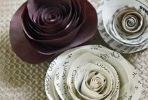 DIY Flowers from paper