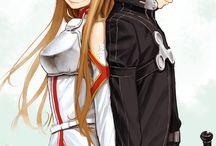 parejas anime
