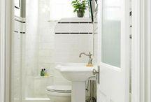 Small bathrooms / Ideas for bathrooms