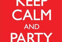 keep calm  / by Olivia Klenda
