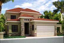 Fachada casas / Color y formas fachadas