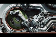 Concept Art - Modular Sci-Fi