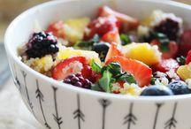 Groente en fruit / Receptjes met groente en fruit. We love it.