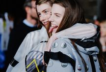 BACK STAGE - HUNTER ORIGINAL SS16 / Backstage at the Hunter Original Spring/Summer 2016 runway show at London Fashion Week. Discover more at hunterboots.com / by Hunter Boots