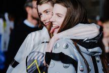 BACK STAGE - HUNTER ORIGINAL SS16 / Backstage at the Hunter Original Spring/Summer 2016 runway show at London Fashion Week. Discover more at hunterboots.com