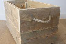 Steigerhout meubels / Hout