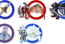 Sonic & The Black Knight / Official artwork from Sonic & The Black Knight for Wii including characters, weaponry and other images.  More info on Sonic and the Black Knight at http://sonicscene.net/sonic-and-the-black-knight