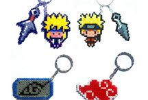 Naruto hama beads