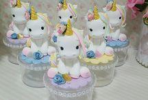 cakes unicorn and paris