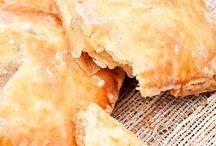 home made apple  pie tarts