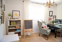 Office and playroom space / by Nicole Dash