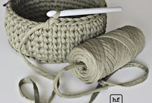 Crocheting - knitting