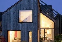 Pitched roof houses