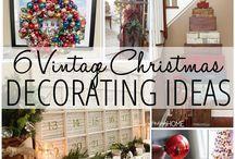 Holiday Decorations / by Christina Hammond