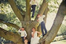 Bridesmaids and Page Boys / Not forgetting the important helpers on your big day, both older and young!