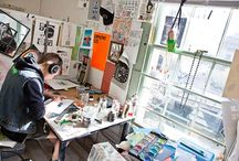 Illustrators studios