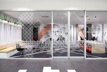 Inspiration: workplace branding | Glass foil