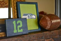 Phillip's Seahawks bedroom