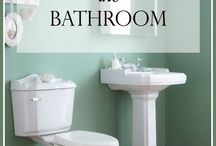 Bathroom Organization / Need bathroom organization help? Here you'll find space saving ideas for getting your bathroom organized once and for all! Whether you are dealing w/ a small bathroom or need specific ideas for under sink, above toilet, or countertop spaces, there's organization tips for everyone! You'll learn how to maximize the space in shelves, cabinets, and walls and find lifestyle organization tips for storing makeup, kids bath toys, and more! And for more organizing advice check out The Modern Nest Blog!