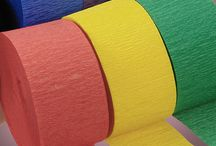 Crepe'n Around! / All things crepe paper! Find our crepe paper on the Paper Mart webstie!