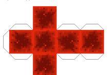 Minecraft block itemek mintái