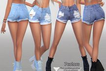 Shorts jeans the sims