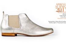 Flats shoes Spring-Summer 2013 fashion Wellness / Calzado plano de la colección primavera-verano 2013.