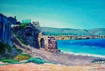 Land scapes / My paintings of places, old and new