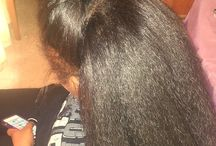 Crochet braids / Black hair
