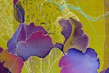 Irissen zijde