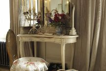 dressing table ideas / by Melissa Ford