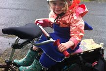 Cargo Bikes and Bicycle Trailers - Kids in Tow / All about using Cargo Bikes and Bicycle Trailers to transport you and the kids, and other stuff (shopping, backpacks, etc) as a reasonable means of alternate transport to cars.